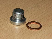 Sensor Port Blanking Plug Bolt M8 x 1.0mm Hex Socket Head with Sealing Washer