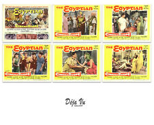The Egyptian Original Lobby Card Set of 6  - Jean Simmons  - 1954 - NM