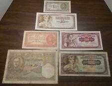 6 - Yugoslavia - 1 + 10 + 20 + 50 + 100 + 1000 Dinara - 1931+1944+1955+1968