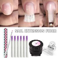 Professional Fiberglass Nail Kit Fiber Nails Extension Manicure Salon Tool Set