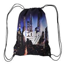 GOLA Sacca zaino coulisse in cordura pesante stampata skyline NEW YORK 44x32 cm