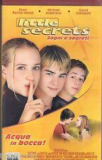 Little Secrets (2002)  - VHS Columbia   Evan Rachel Wood David Gallagher