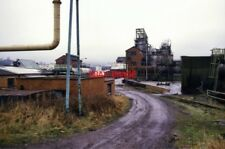 PHOTO  1987 T NESS CAERPHILLY TAR DISTILLATION WORKS THE SATELLITE CONFIRMS THAT