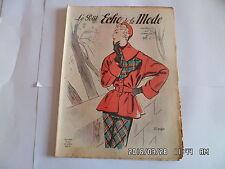LE PETIT ECHO DE LA MODE N°7 12 FEVRIER 1950     J31