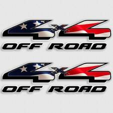 4x4 American Flag Truck Decal Sticker for Ford Patriot USA F150 Lariat Pickup