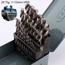 Spiralbohrersatz HSS Bohrer Set 25 tlg. Metallbohrer Spiralbohrer Ø1-13mm BDS 05