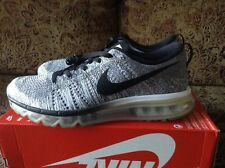 competitive price eecaf 1a479 Men s Nike Flyknit Max Oreo White Black 620469-102 Size 10.5