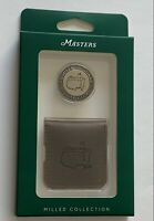 2021 Masters milled ball marker coin with case augusta national golf new pga