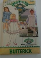 VTG Butterick Sewing Pattern 3086 Cabbage Patch Girl Uncut  Doll Cut~No Transfer