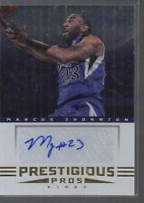MARCUS THORNTON 2012-13 PANINI PRESTIGE PRESTIGIOUS PICKS ROOKIE AUTO CARD #17