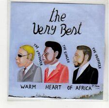(GE805) Warm Heart Of Africa, The Very Best - DJ CD