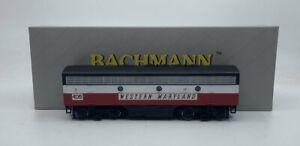 Bachmann 11229 Western Maryland EMD F7B Locomotive Powered LN/Box