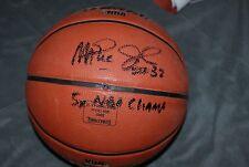 EARVIN MAGIC JOHNSON SIGNED NBA ALL STAR  BASKETBALL LA LAKERS 5 X CHAMPS PROOF
