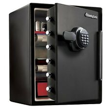Large Fire Safe Electronic Lock Box Security Steel Fireproof Home Office Sentry