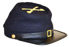 American Civil War Acw  Enlisted Union Cavalry Kepi With Badge XLarge 60/61cms