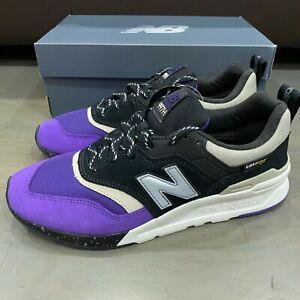 New Balance 997H Cordura Prism Purple Men's Running Shoes CM997HYT 997 Size 10.5