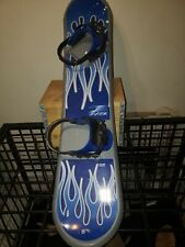 Rage Snowboard 110 Blue And Silver