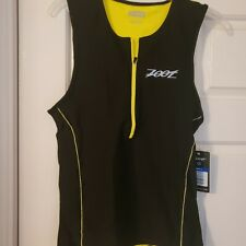 Nwt Men's Zoot Sleeveless Triathlon Singlet - Xlarge