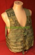 USGI Military MOLLE II Fighting Load Carrier Vest FLC USMC Coyote Brown MINT