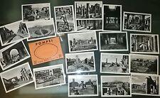 POMPEI RACCOLTA 20 VERE MINI FOTOGRAFIE ANNI 1930 ED. CARCAVALLO NAPOLI