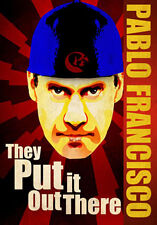 DVD:PABLO FRANCISCO THEY PUT IT OUT THERE - NEW Region 2 UK