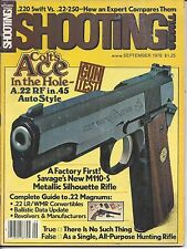 Shooting Times September 1978 Colt Ithaca Remington Savage Sharon