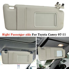 Sun Visor Shield Cover Right Passenger Side With Sunroof For Toyota Camry 07-11
