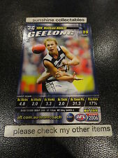 2006 AFL TEAMCOACH BASE CARD GEELONG NO.109 NATHAN ABLETT
