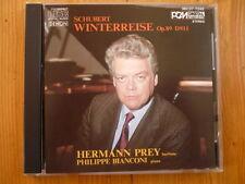 SCHUBERT  Winterreise Hermann Prey Philippe Bianconi DENON JAPAN CD
