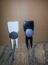 $.80 ea 30 American made blank plastic divot tools with metal ball marker