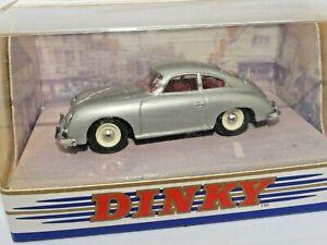 Dinky 1/43 Scale DY-25 - 1958 Porsche 356A Coupe - Silver