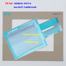 New for SIEMENS TP27-6 6av3627-1nk00-2ax0 Touch Screen Glass + Protective Film
