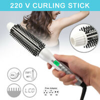 32mm Hair Blow Dryer Brush Comb Hot Air Hair Dryer Straightener Hair Beauty