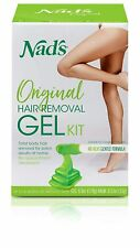 Nad's Wax Kit Gel - Wax Hair Removal For Women - Body+Face Wax - All Skin Types