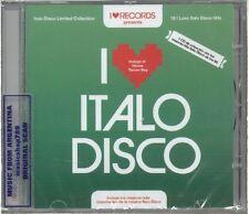I LOVE ITALO DISCO SEALED CD NEW 2014