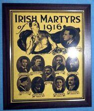 "Celtic FC Proclamation of Ireland Irish Martyrs 1916 10x8"" Framed Photo Print 05"