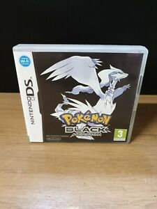 POKEMON BLACK DS CASE AND BOOKLET