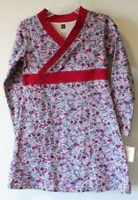 New Tea Collection Pink Ribbon Ikebana Wrap Neck Dress Girl's Size 4
