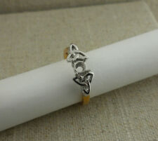 IRISH MADE 18K Trinity Knot Engagement Ring Setting Made in Ireland by Boru 6.5