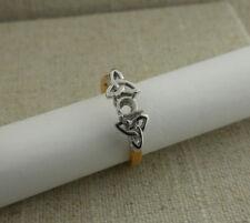 Setting Made in Ireland by Boru 6.5 Irish Made 18K Trinity Knot Engagement Ring