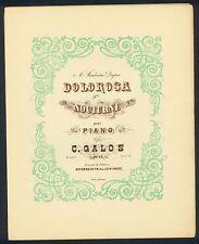 C. GALOS - DOLOROSA - 5. NOCTURNE - OP.23 - KLAVIER SOLO