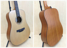 Klema K100DC Solid Cedar Top,D-Shape Acoustic Guitar,Natural Matt +Free Gig Bag
