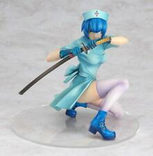 Ikki Tousen Battle Vixense Figure Ryomou Shimei Blue Nurse Ver. Cast-off