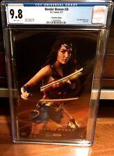 Cgc 9.8 Wonder Woman #26 Foil Sdcc 2017 Variant Photo Cover Rebirth Dc Gadot Hot