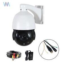 CCTV CAMERA PTZ 1080P FULL HD TVI AHD CVBS 18X ZOOM OUTDOOR NIGHT VISION+CABLE
