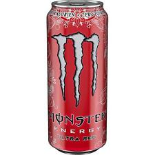12 Dosen Monster Ultra Red Energy Drink a 500ml inc. Pfand Energy Drink