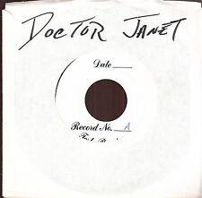 """doctor janet ten years gone 7"""" test pressing yo la tengo screaming trees w/info"""