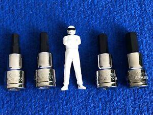 "Blue Point 3/8"" dr HEX Allen Socket set 6mm 7mm 8mm & 10mm NEW - sold by Snap On"