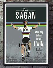 Peter Sagan paris roubaix tour de france cycling unframed cycling print