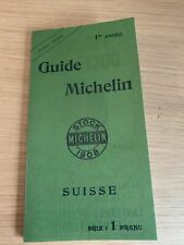 Guide Michelin Extrait - Auszug 1908 - Suisse Schweiz (very Rare)